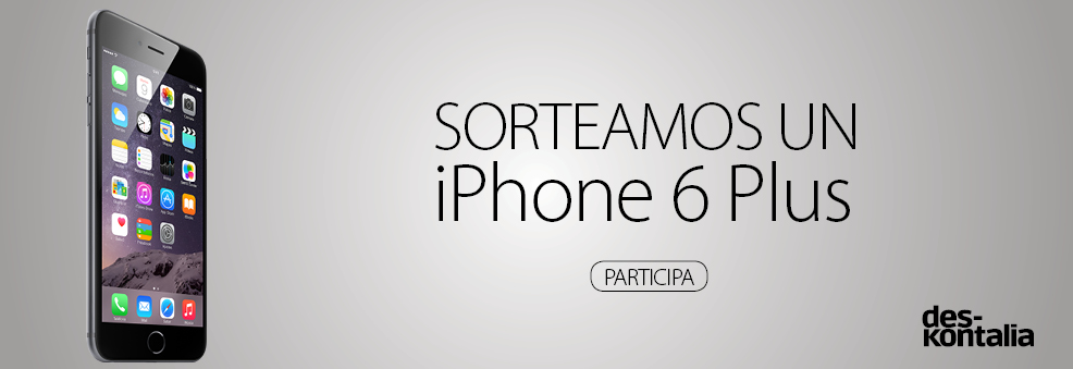 Sorteo iPhone 6 Plus - Deskontalia