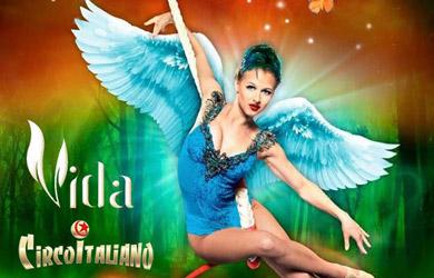 Entrada para el II Circo Italiano de Butaca preferente DEBUT para
