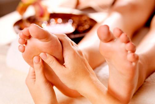 ¡Siéntete mejor! Reflexología podal con masaje de 60 min