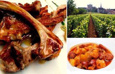 Menú Riojano en la Facultad de Castroviejo + Cata de vinos y visi