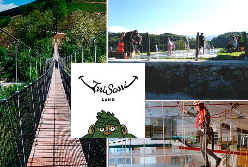 IRRISARRI LAND: Entrada de día entero con acceso ilimitado a las Actividades: Jolastiki, Ruta mitológica, Juegos de agua, Tiro con arco, Hinchables, Puente Tibetano,…