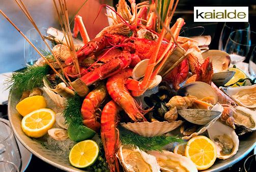 ¡Come y bebe sin límites! Impresionante parrillada de marisco en Hondarribi