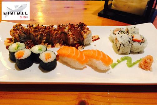 15 piezas sushi de la mejor calidad en su Bandeja de Verano