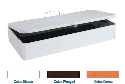 Canapé de madera de esquinas redondeadas en 3 colores a elegir co