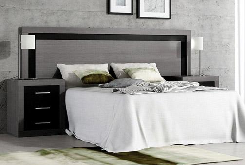 Deskontalia dormitorio formado por cabezal y 2 mesillas - Deco hogar ourense ...