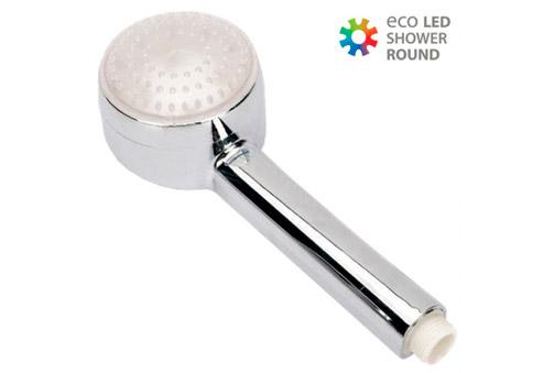 Deskontalia una ducha con luz led que cambia de color en - Deco hogar ourense ...