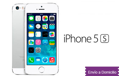 iPhone 5s 16GB Libre, nuevo en  color blanco / Plata, o Gris espacial