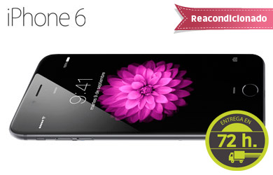 iPhone 6 16 GB Reacondicionado Clase A en  color Space grey