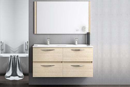 Deskontalia conjunto de mueble de ba o segare natural for Mueble mas lavabo
