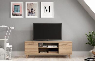 Mueble de tv con patas