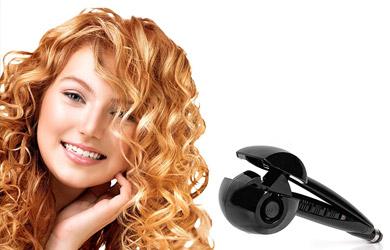 Rizador de pelo Automatic Curl Pro en color negro