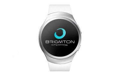 Smartwatch brigmton bwatch-bt5 color blanco