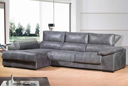 Deskontalia sof con chaise longue asientos deslizantes - Deco hogar ourense ...