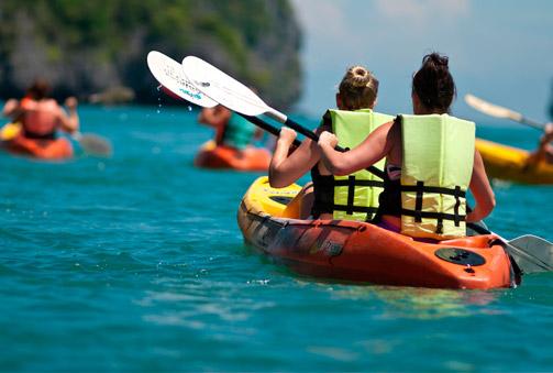 URDAIBAI KIROLEROAK: Travesía en kayak doble por el enclave privilegiado de la Reserva de Urdaibai