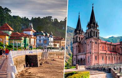 Circuito de 4 días en bus a Asturias