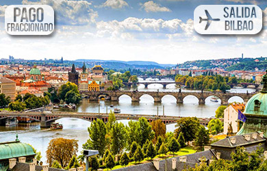 Viaje de 8 días a Budapest y Praga desde Bilbao