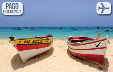 Viaje de 8 días a Cabo Verde con vuelo desde Madrid y estancia en