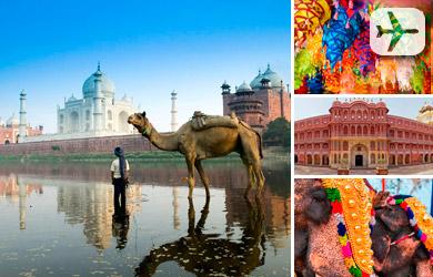 INDIA / NUEVA DELHI-AGRA-JAIPUR