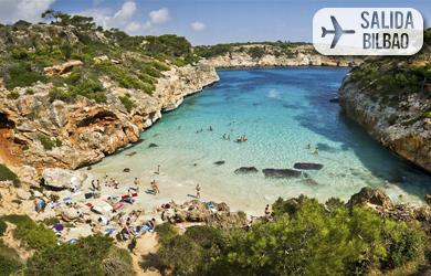 Viaje de 8 días a Mallorca con vuelos desde Bilbao, hotel en régi