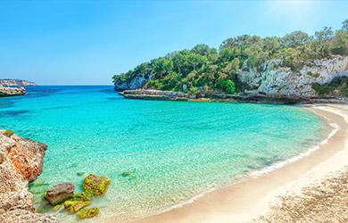 Viaje de 5 días a Mallorca con vuelos desde Bilbao y en hotel de