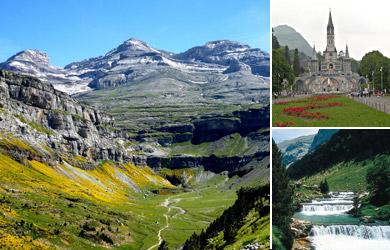 Circuito de 7 días por Pirineos, Lourdes y Andorra